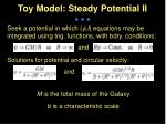 toy model steady potential ii