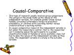 causal comparative8