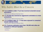 why safety must be a concern