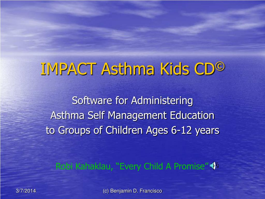 impact asthma kids cd l.