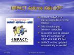 impact asthma kids cd11