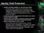 identity theft protection24
