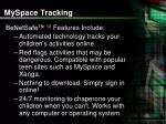 myspace tracking