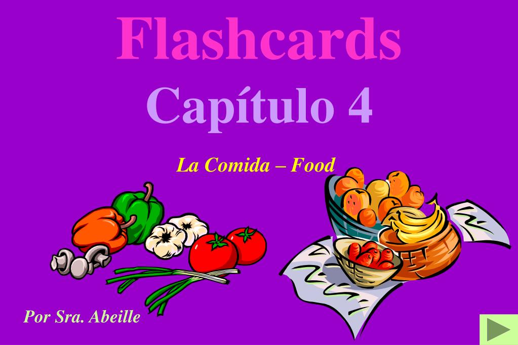 flashcards cap tulo 4 l.
