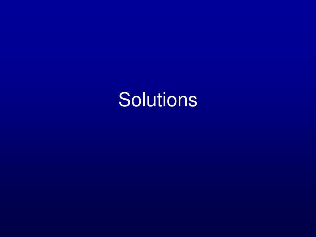 solutions l.