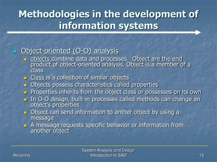 introduction to system analysis and design pdf