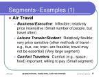 segments examples 1
