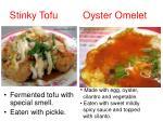 stinky tofu oyster omelet