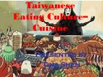 taiwanese eating culture cuisine