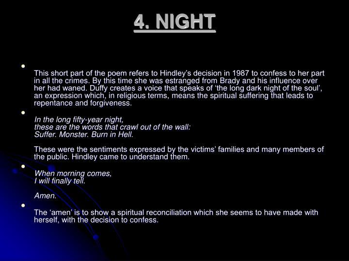 4. NIGHT
