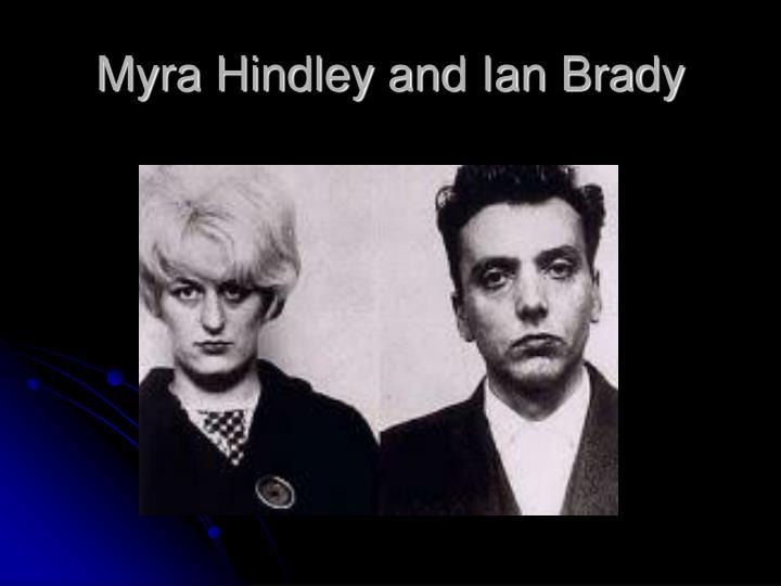 Myra hindley and ian brady