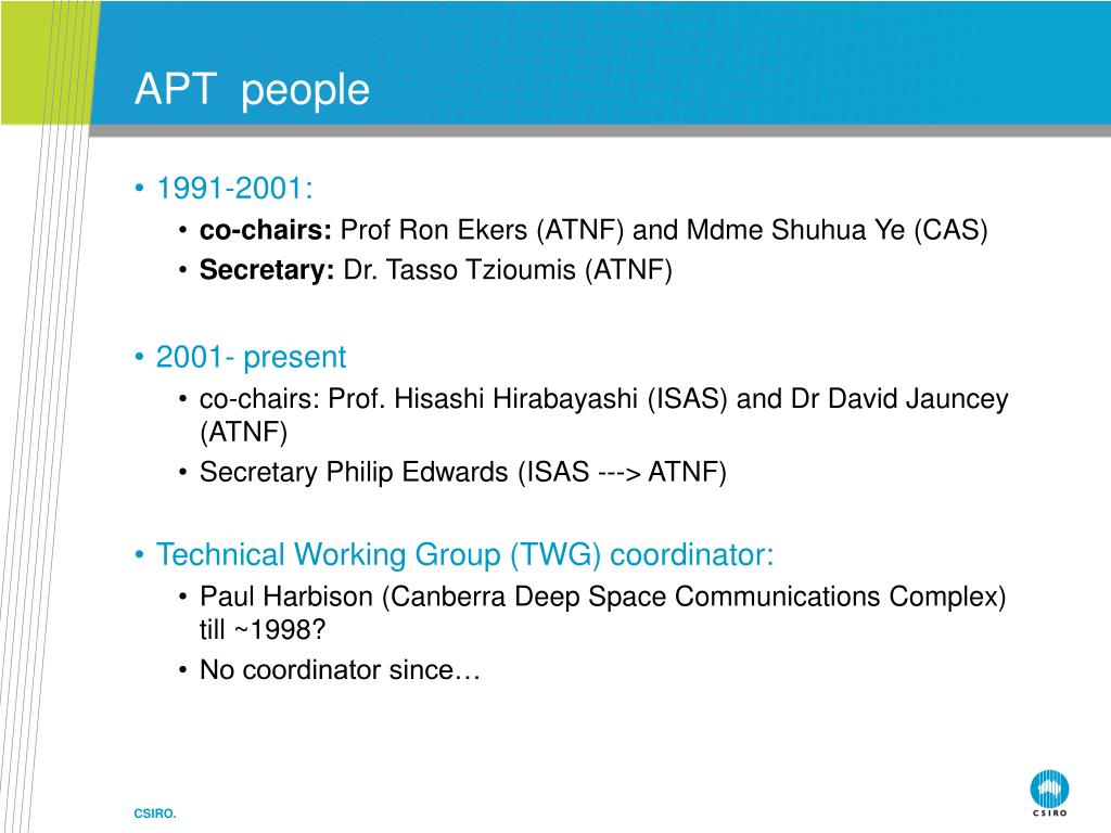 APT  people