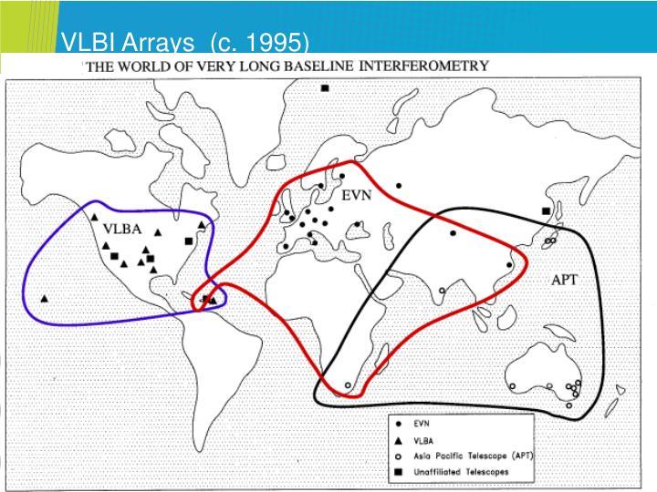 Vlbi arrays c 1995