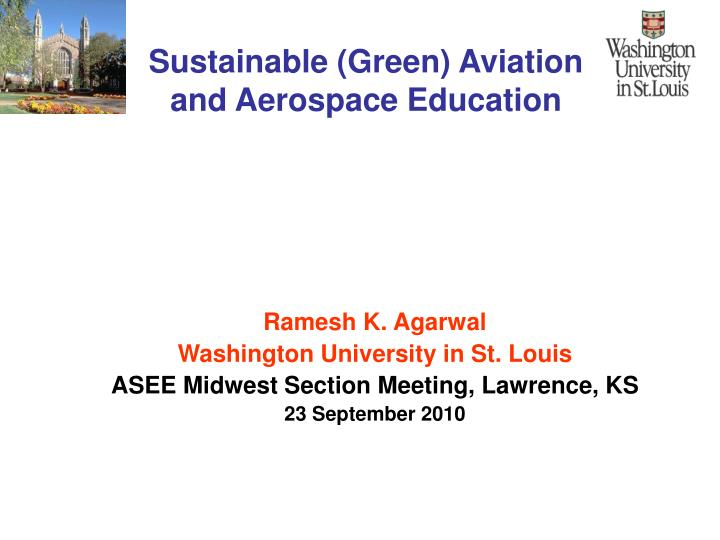 sustainable green aviation and aerospace education n.