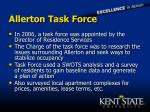 allerton task force