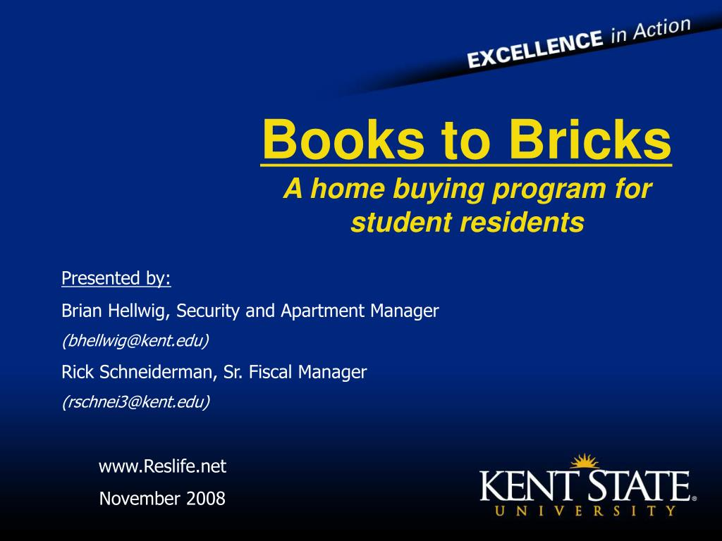 Books to Bricks