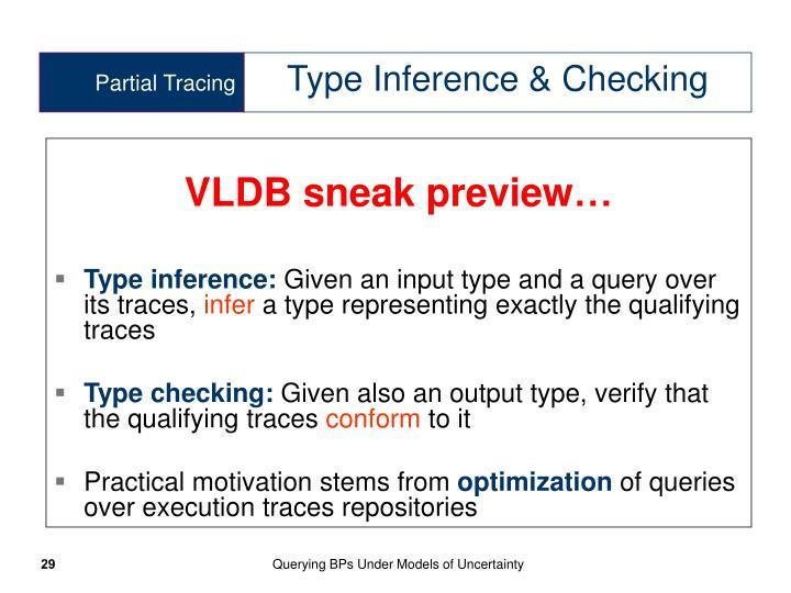 VLDB sneak preview…