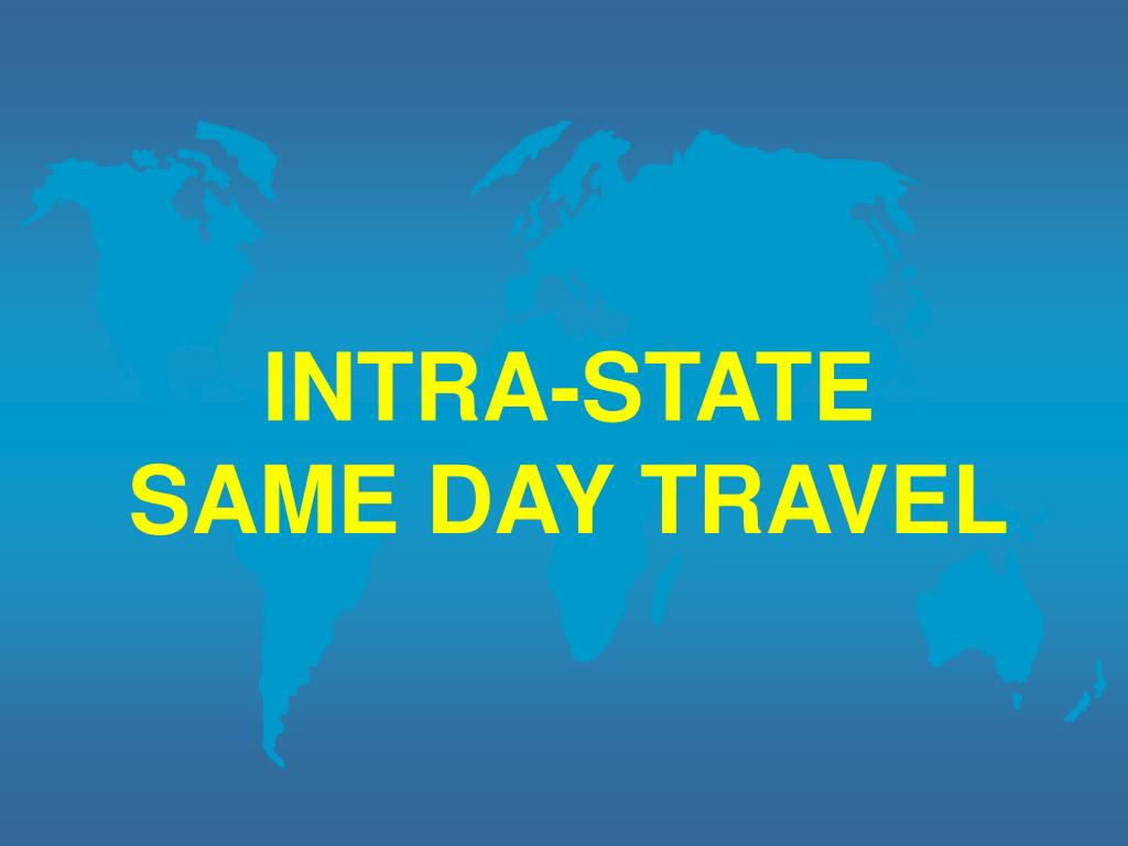 INTRA-STATE