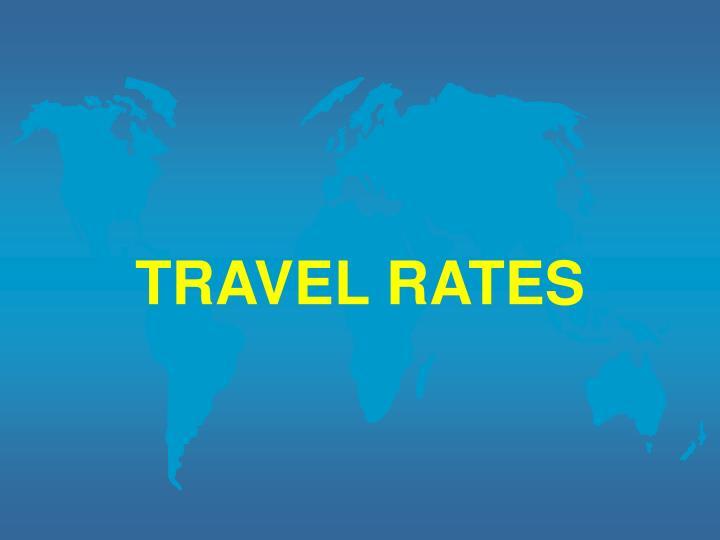 TRAVEL RATES