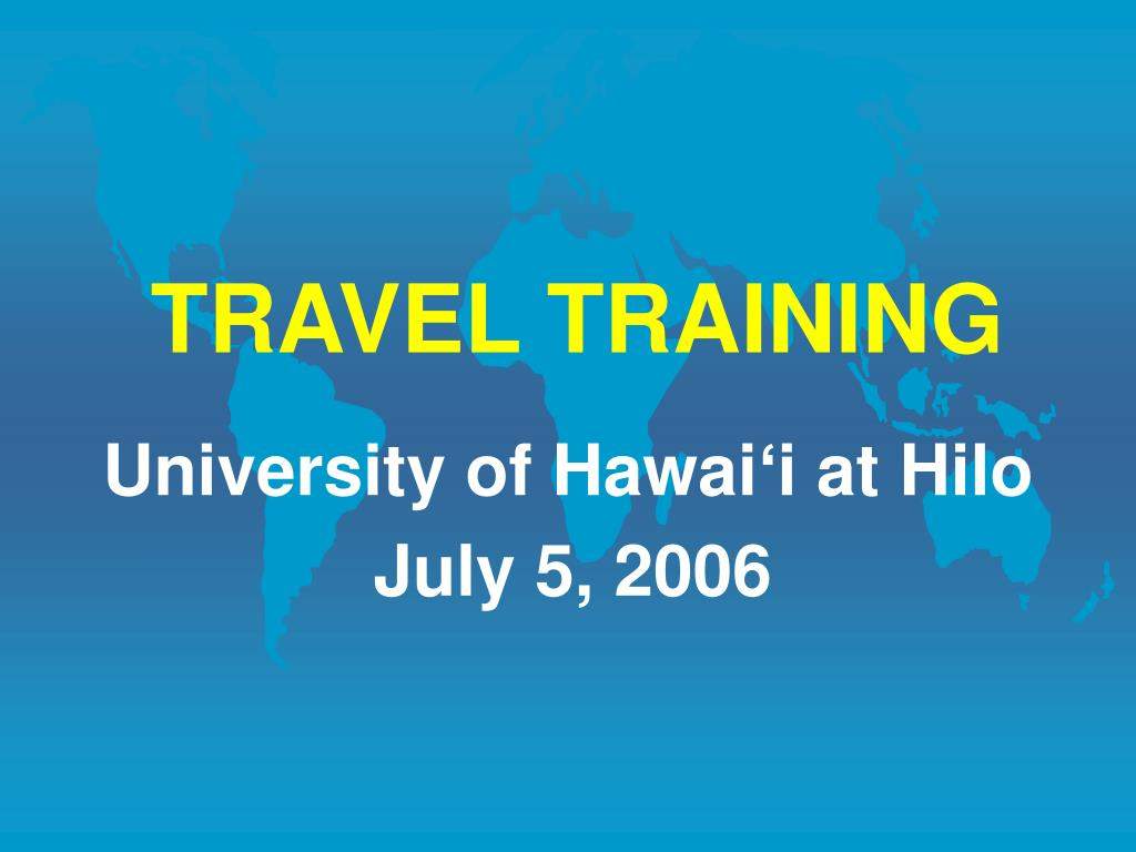 travel training l.