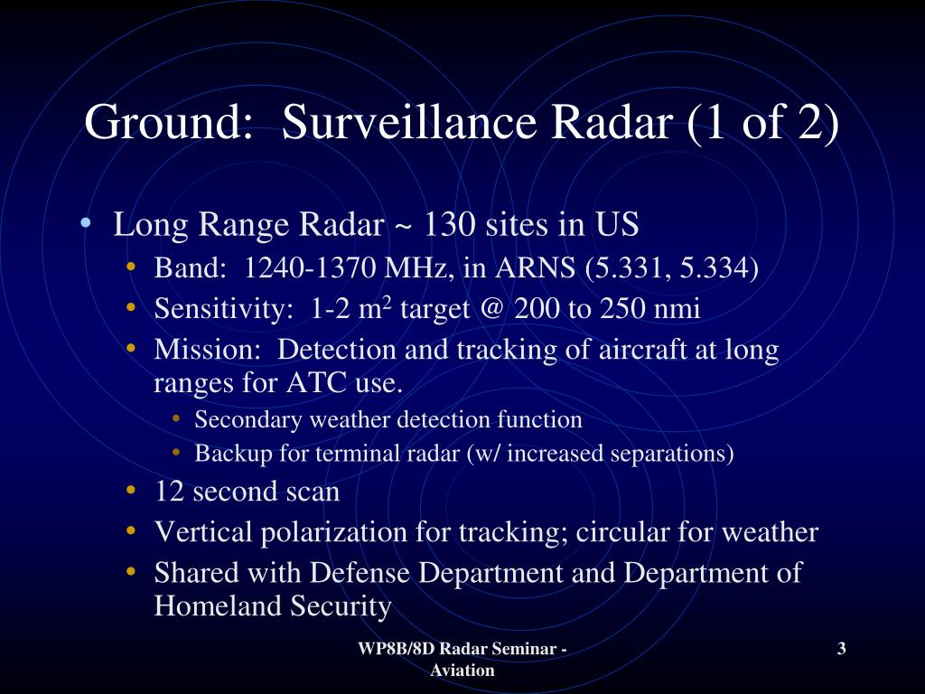 PPT - Aviation Use of Radar PowerPoint Presentation, free