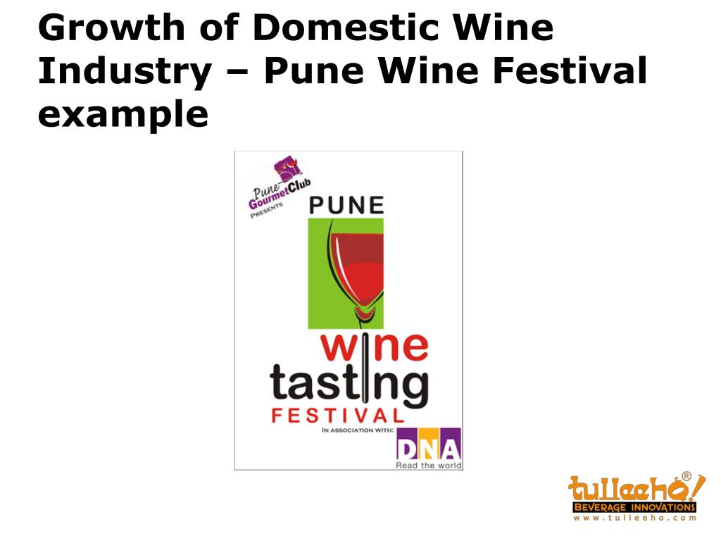 Growth of Domestic Wine Industry – Pune Wine Festival example