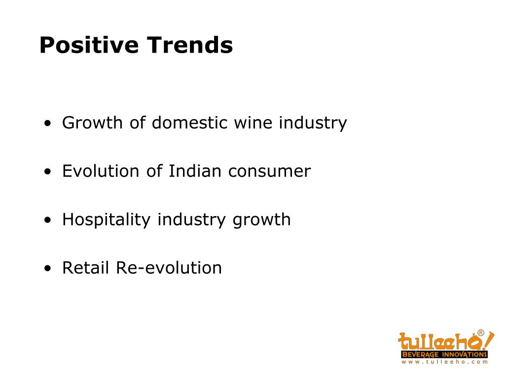 Positive Trends