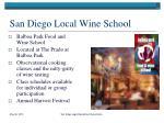 san diego local wine school