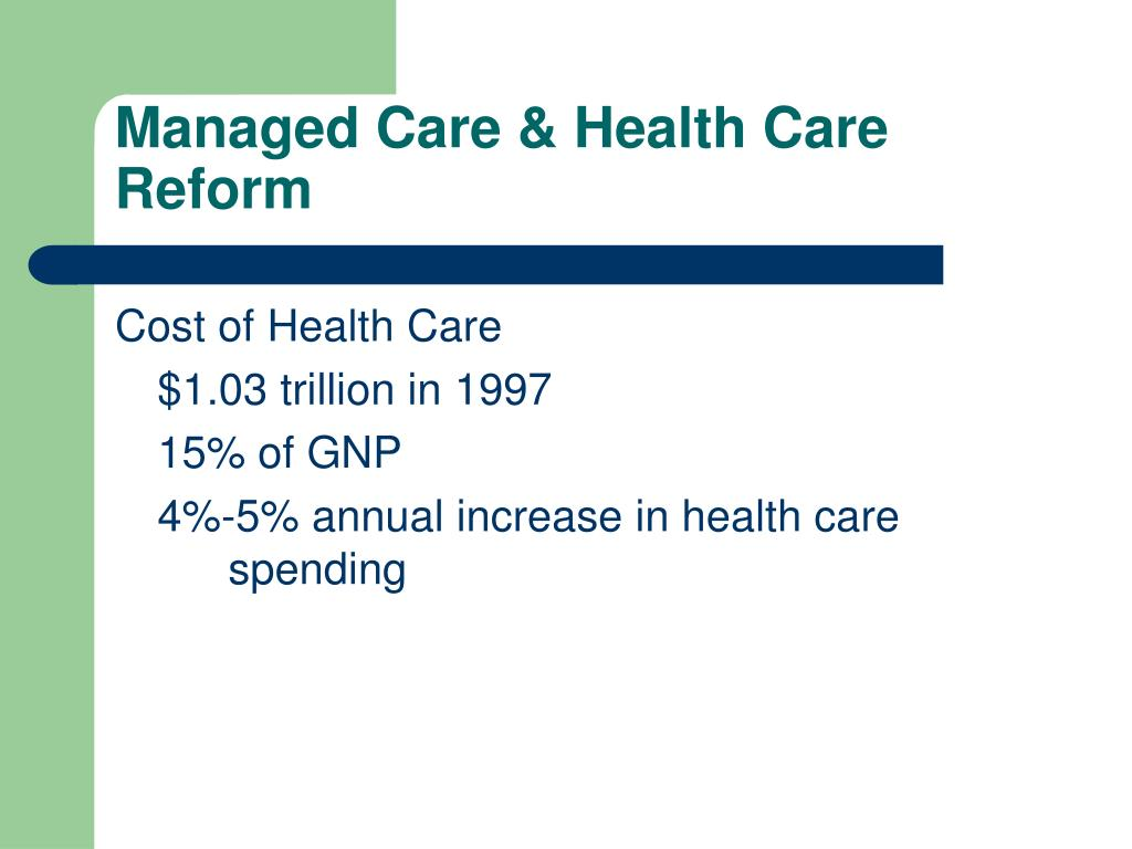 Ppt medicaid managed care: state expansions powerpoint.