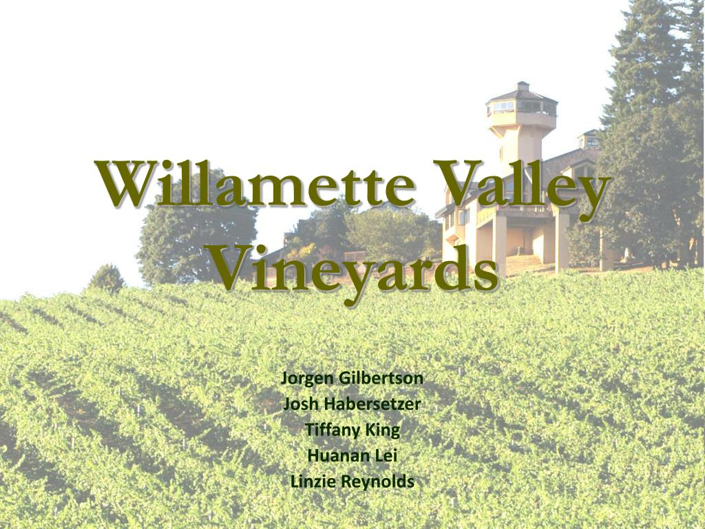 willamette valley vineyards l.