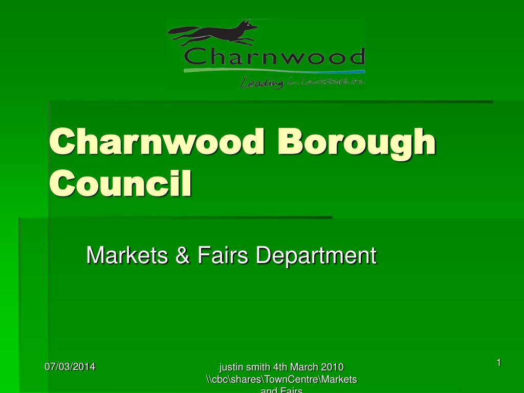 charnwood borough council l.