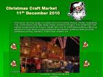 christmas craft market 11 th december 2010