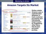 amazon targets its market