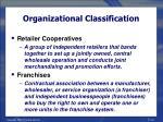 organizational classification24