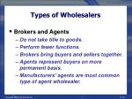 types of wholesalers39