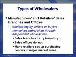 types of wholesalers40
