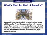 what s next for mall of america