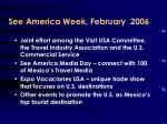 see america week february 2006