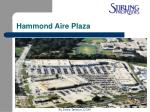 hammond aire plaza