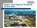 siegen lane regional shopping district 2003
