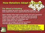 how retailers adapt to change
