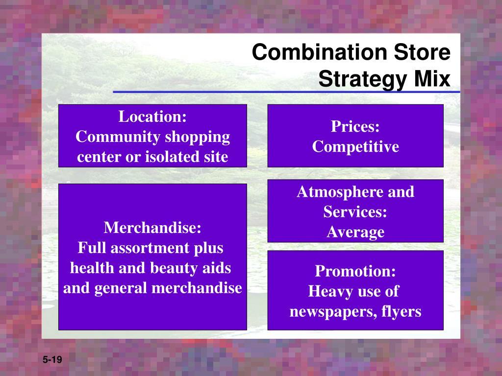 Combination Store