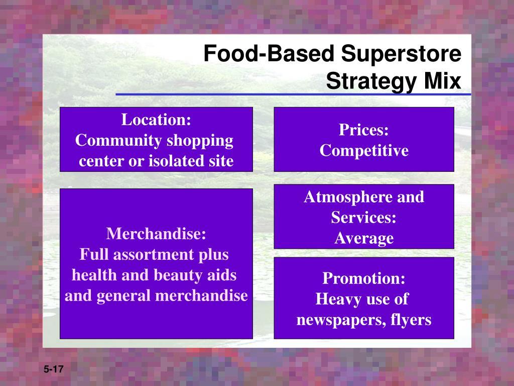 Food-Based Superstore