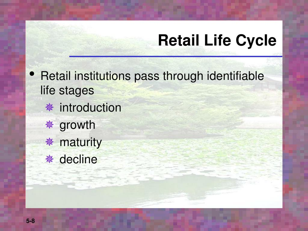 Retail Life Cycle