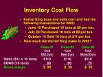 inventory cost flow