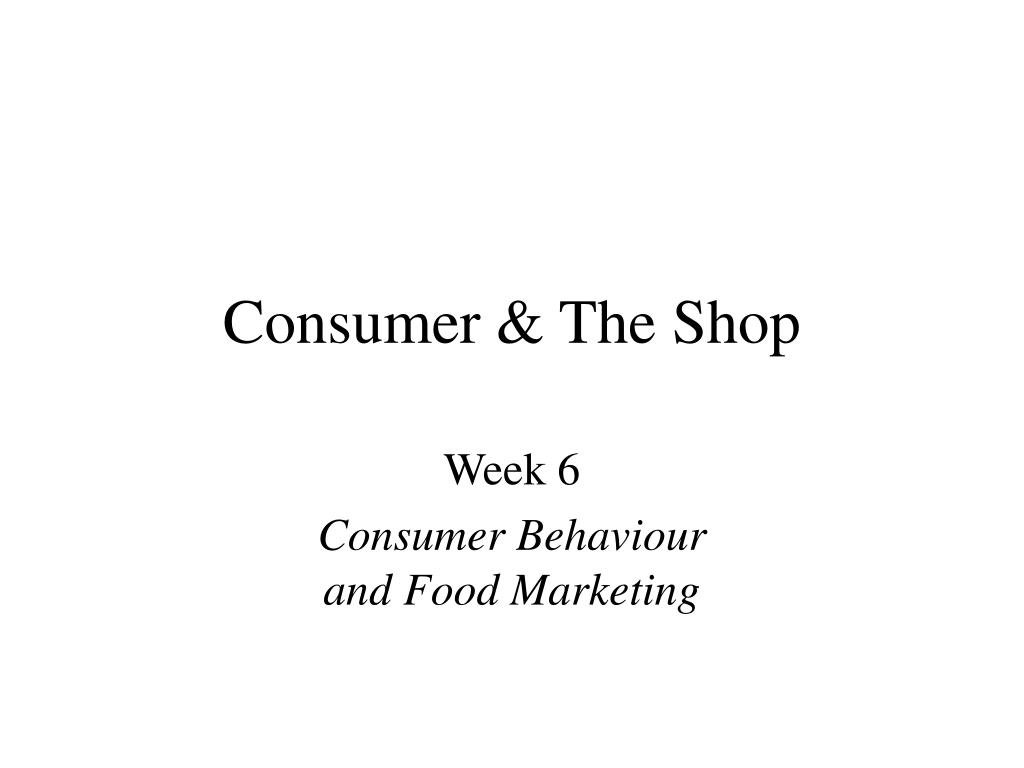 consumer the shop l.