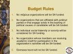 budget rules1