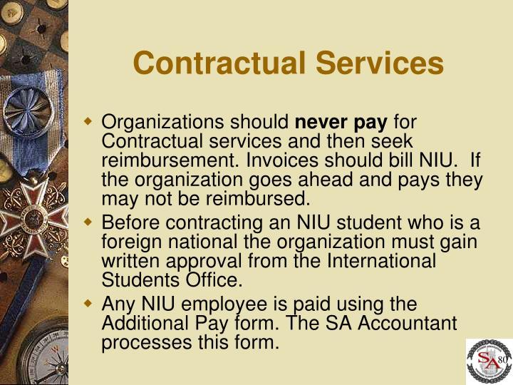 Contractual Services