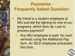 payments frequently asked question1