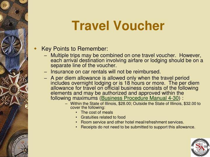 Travel Voucher